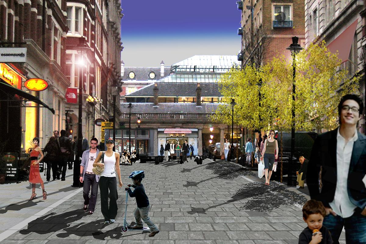 Covent Garden Masterplan, London