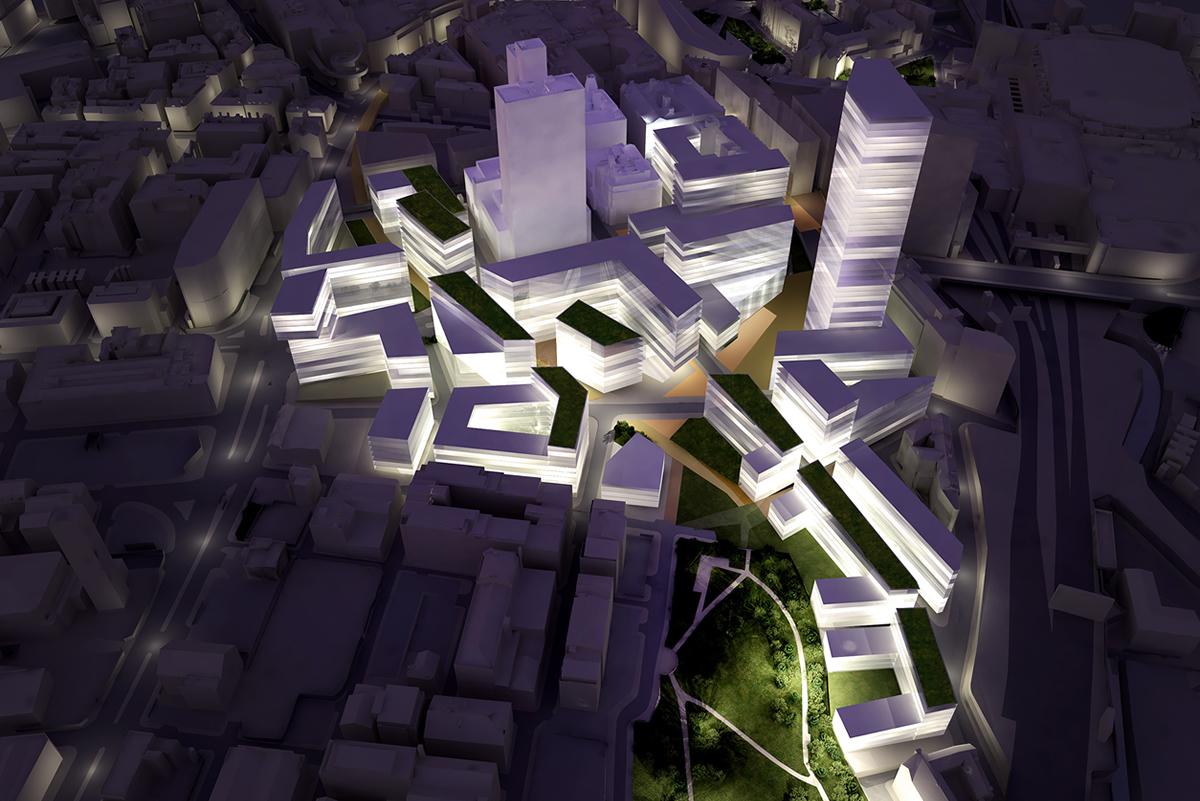 Manchester Co-op Masterplan, Manchester, UK