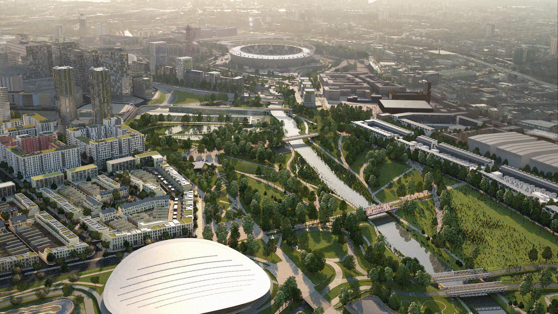 Olympic Legacy Masterplan & Neighbourhood Development, London