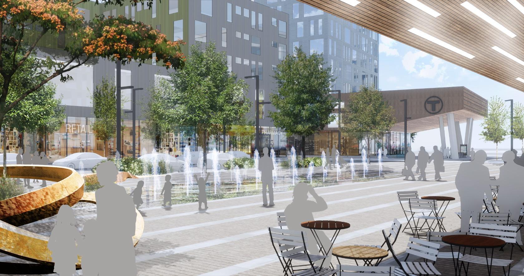 Porter Square Masterplan