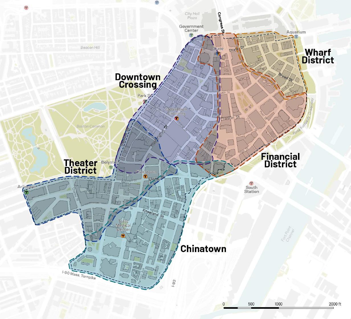 PLAN: Downtown, Boston