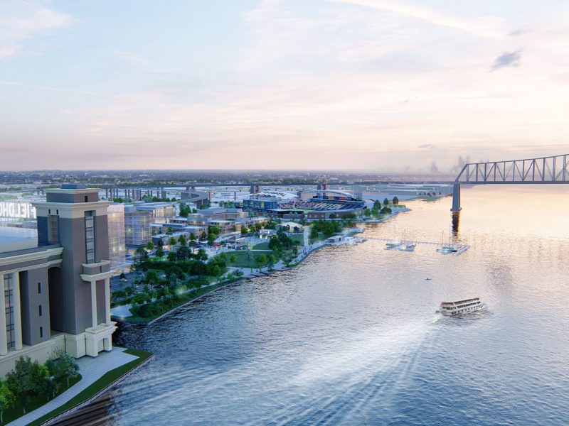 Chester Waterfront Master Plan, Chester PA USA